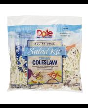 Dole Salad Kit Creamy Coleslaw