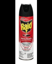 Raid® Fragrance Free Ant & Roach Killer 17.5 oz. Aerosol Can