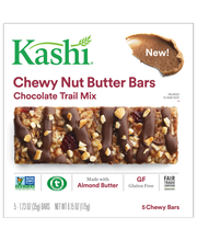 Kashi® Chocolate Trail Mix Chewy Nut Butter Bars 5-1.23 oz. Bars