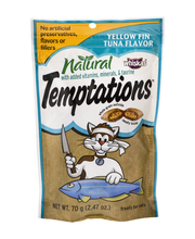 Whiskas® Temptations® All Natural Yellow Fin Tuna Flavor Cat ...