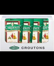 Cardini's® Gourmet Cut Italian Croutons 5 oz. Bag