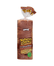 Nature's Own® 100% Whole Wheat Bread 20 oz. Bag