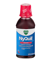 Vicks® NyQuil™ Cough Soothing Cherry Liquid 12 fl. oz. Bottle