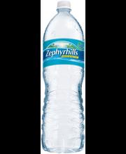 Zephyrhills Natural Spring Water 1.5L Plastic Bottle