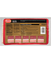 Tyson® Hickory Smoked Thick Cut Bacon 16 oz. Tray