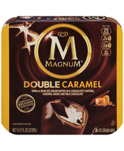 Magnum® Double Caramel Ice Cream Bars 3 ct Box