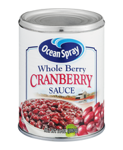 Ocean Spray Sauce Whole Berry Cranberry Sauce 14 Oz Can