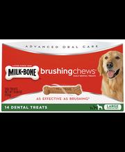 Milk-Bone Brushing Chews Daily Dental Treats - Large - 18.86 ...