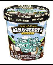 Ben & Jerry's® New York Super Fudge Chunk® Ice Cream 1 pt. Tub