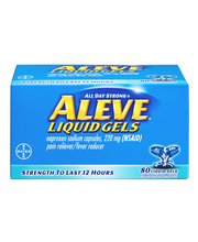 Aleve® Naproxen Sodium Pain Reliever/Fever Reducer 220mg Liqu...