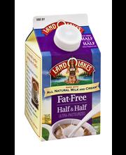 Land O Lakes® Rich & Creamy Fat-Free Half & Half 1 pt. Carton