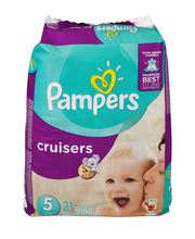 Cruisers Pampers Cruisers Diapers Size 5 21 count