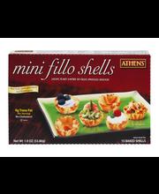 Athens® Mini Baked Fillo Shells 15 ct. Box