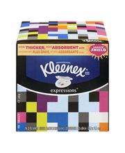 Kleenex® Expressions Facial Tissue 74 ct. Box