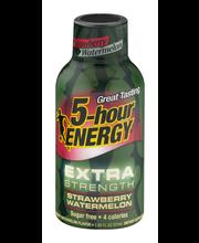 5-Hour Energy Extra Strength Dietary Supplement Strawberry Wa...