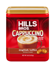 Hills Bros.® English Toffee Cappuccino Cafe Style Drink Mix 1...