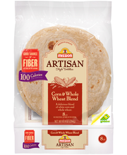 Mission® Artisan Style Corn & Whole Wheat Blend Tortillas 10....
