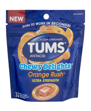Tums® Chewy Delights® Orange Rush™ Antacid Ultra Strength Sof...