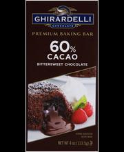 Ghirardelli® Chocolate 60% Cacao Bittersweet Chocolate Premiu...