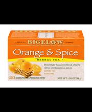 Bigelow® Orange & Spice Herbal Tea 1.50 oz. Box