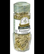McCormick Gourmet™ Organic Rosemary Leaves, 0.65 oz