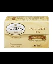 Twinings of London® Earl Grey Black Tea Decaffeinated 20 ct T...