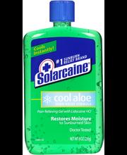 Solarcaine® Cool Aloe Burn Relief Formula Pain Relieving Gel ...