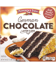 Pepperidge Farm® German Chocolate Layer Cake 19.6 oz. Box