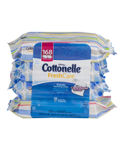 Cottonelle Fresh Care Flushable Cleansing Cloths - 168 CT