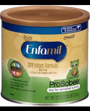 Enfamil™ ProSobee® Soy Infant Formula Powder 22 oz. Canister