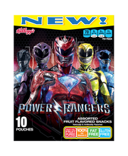 Kellogg's® Saban's Power Rangers Assorted Fruit Flavored Snac...