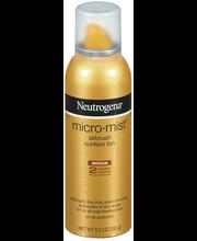 Neutrogena® Medium Micromist™ Tanning 5.3 Oz Aerosol Can