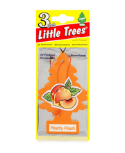 Little Trees Air Fresheners Peachy Peach - 3 CT
