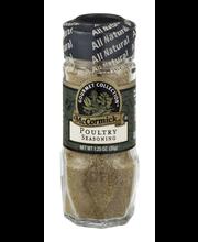 McCormick Gourmet™ All Natural Poultry Seasoning 1.25 oz. Shaker