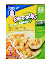 Gerber® Lil' Entrees® Mashed Potatoes and Gravy with Roasted ...