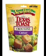 New York Bakery® Texas Toast Caesar Croutons 5 oz. Bag