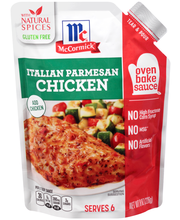 McCormick® Italian Parmesan Chicken Oven Bake Sauce, 8 oz. Pouch