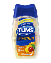 Tums® Ultra Strength 1000 Assorted Fruit Antacid Chewable Tab...