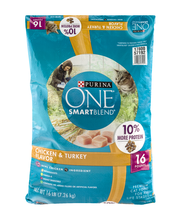 Purina ONE Tender Selects Blend with Real Chicken Cat Food 16...