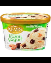 Kemps® Smooth & Creamy Sea Salt Caramel Truffle Frozen Yogurt...