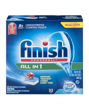 Finish® All in 1 Powerball® Super Charged Deep Clean Fresh Sc...