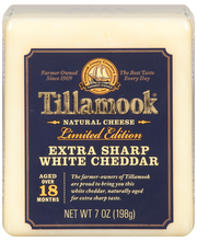 Tillamook® Extra Sharp White Cheddar 7 oz. Block