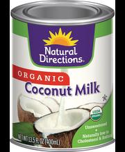 Nat Drctn Coconut Milk Orgnc