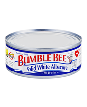 Bumble Bee® Premium Solid White Albacore in Water 5 oz. Can