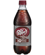 Dr Pepper® TEN® Soda 20 fl. oz. Bottle