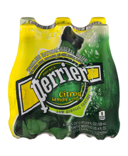 PERRIER Sparkling Natural Mineral Water, Lime 16.9-ounce plas...