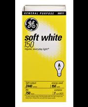 GE Soft White 150 Watts General Purpose Light Bulb