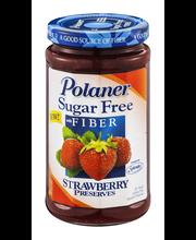 Polaner® Sugar Free with Fiber Strawberry Preserves 13.5 oz. Jar