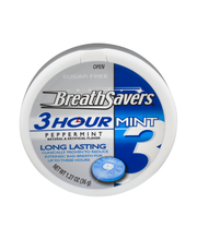 Breath Savers 3-Hour Peppermint Sugar Free Mints 1.27 oz. Pla...