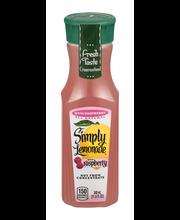 Simply Lemonade® with Raspberry 340mL Bottle